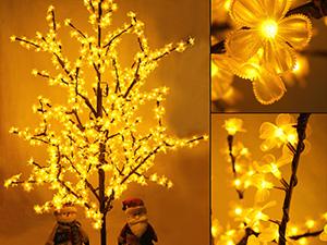 LED铁杆树灯-效果展示