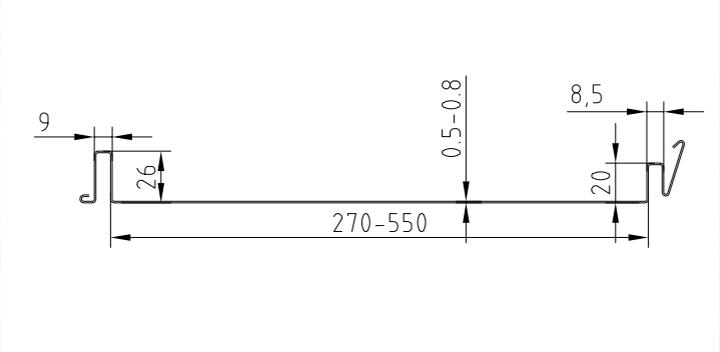 貨架承板生產線