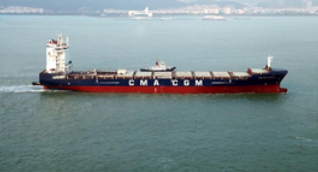 2500箱集装箱船