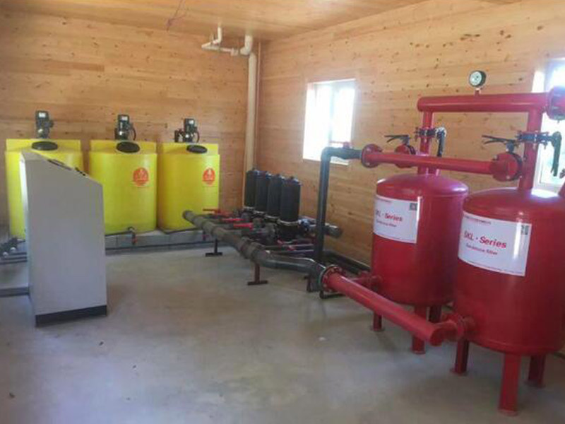 滴灌项目设备成果展示及设施农业实景