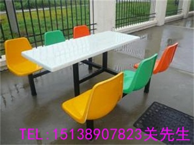 济源学校食堂餐桌椅