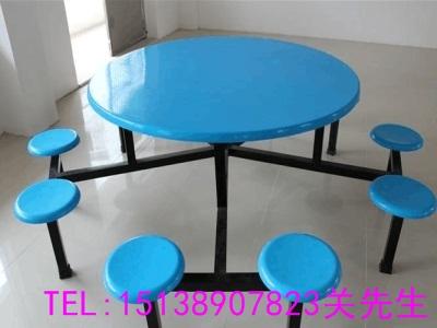 驻马店八人连体餐桌椅