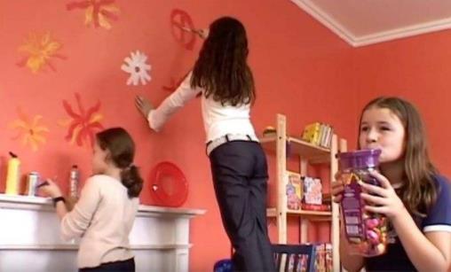 艺术涂料儿童房