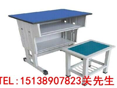 鹤壁培训班双人课桌凳