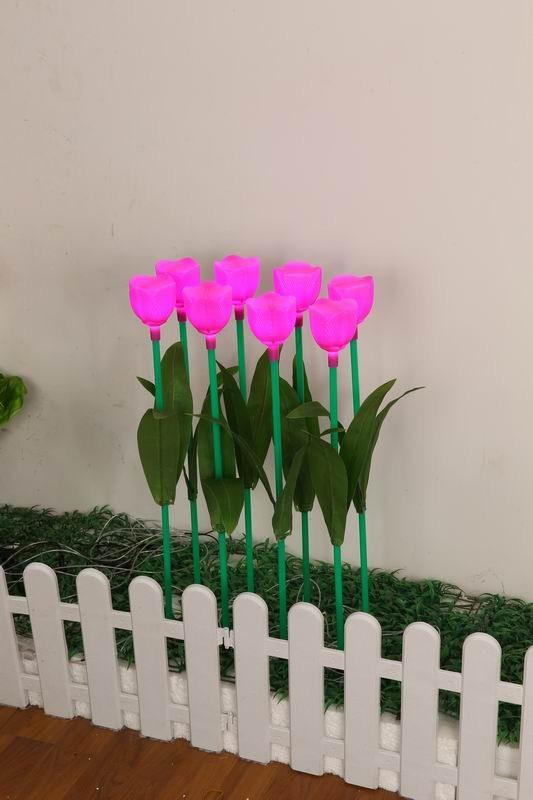 绿色郁金香插地灯