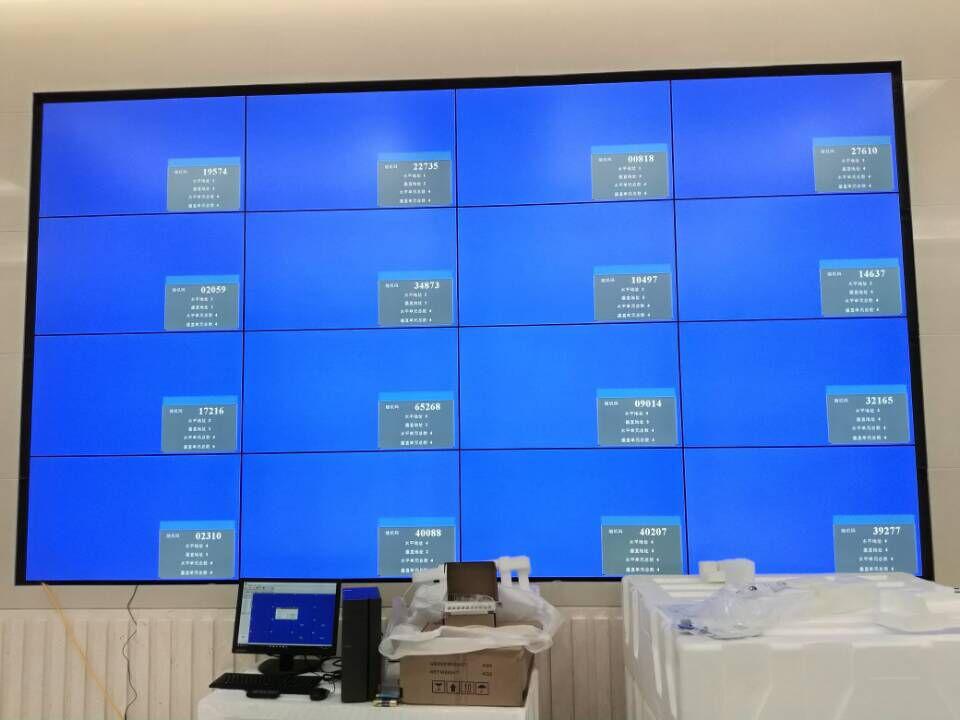 壁挂式拼接屏