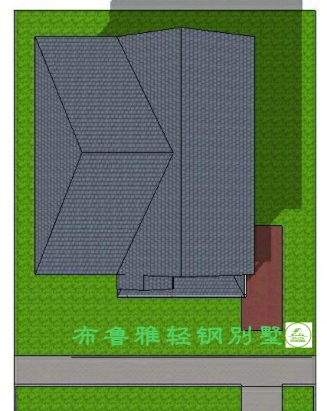 广西轻钢别墅样板房
