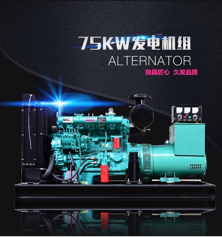 75KW發電機組