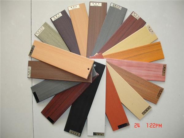 生态木色板