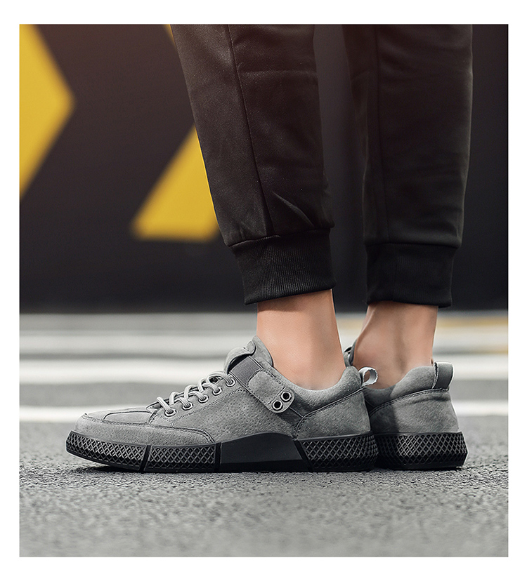 学生板鞋男