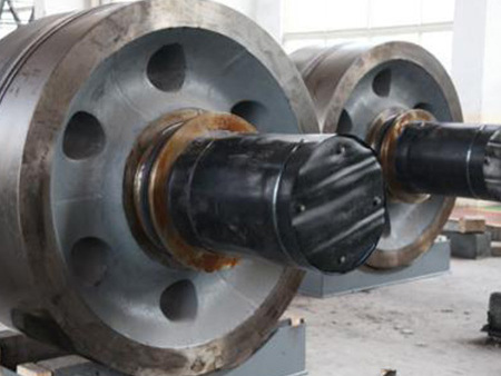 水泥旋窑托轮轴