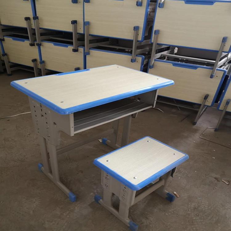 新鄉鋼木可調節課桌椅