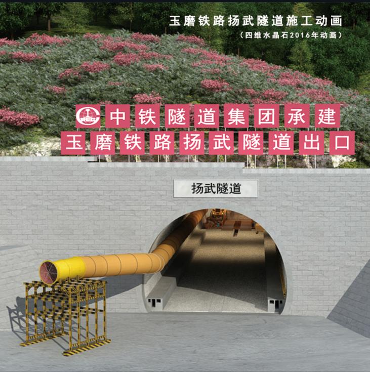 隧道施工动画