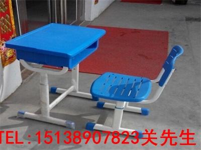 三门峡单人钢木课桌椅