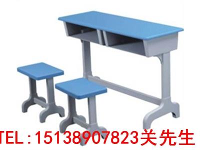新乡单人钢木课桌椅