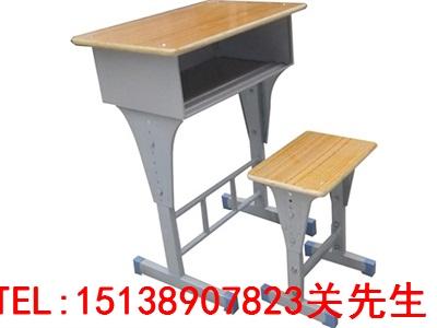 濮阳单人钢木课桌椅