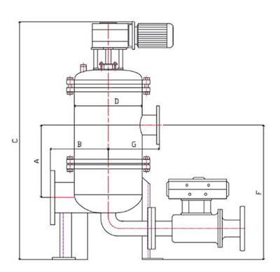 MS-CF系列 多芯式自清洗过滤器