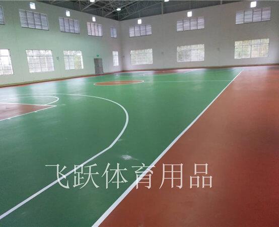 广西硅PU塑胶球场
