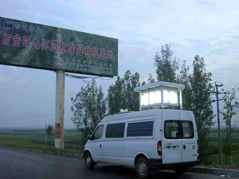 种植基地 杀虫车