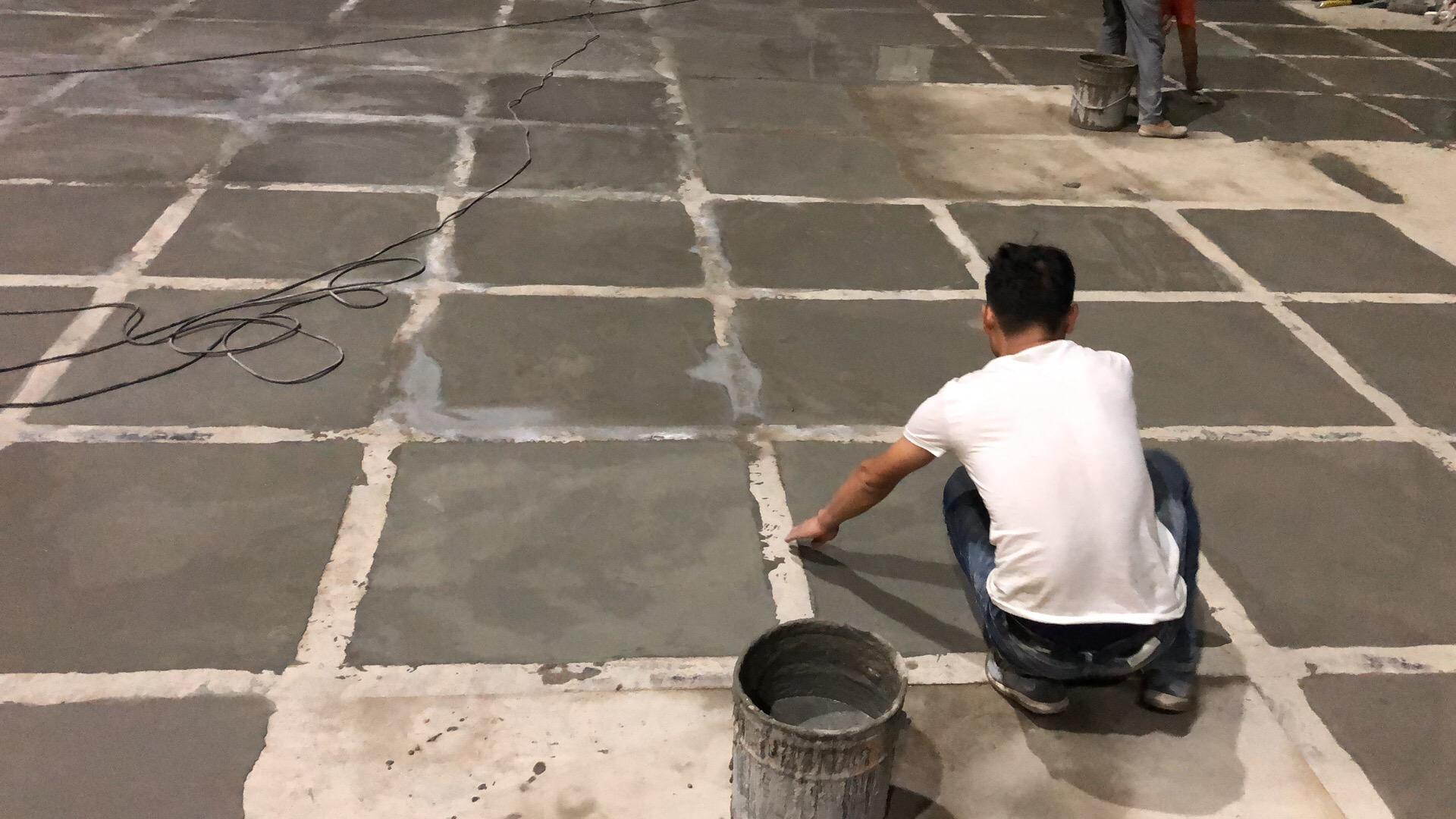高强度性修复水泥地面