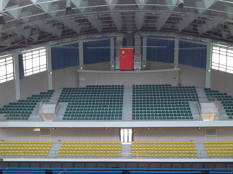 体育馆颁奖旗