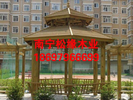广西防腐木凉亭