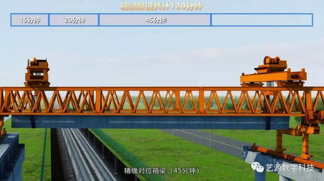 工程施工模拟动画