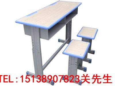 南阳单人钢木课桌椅