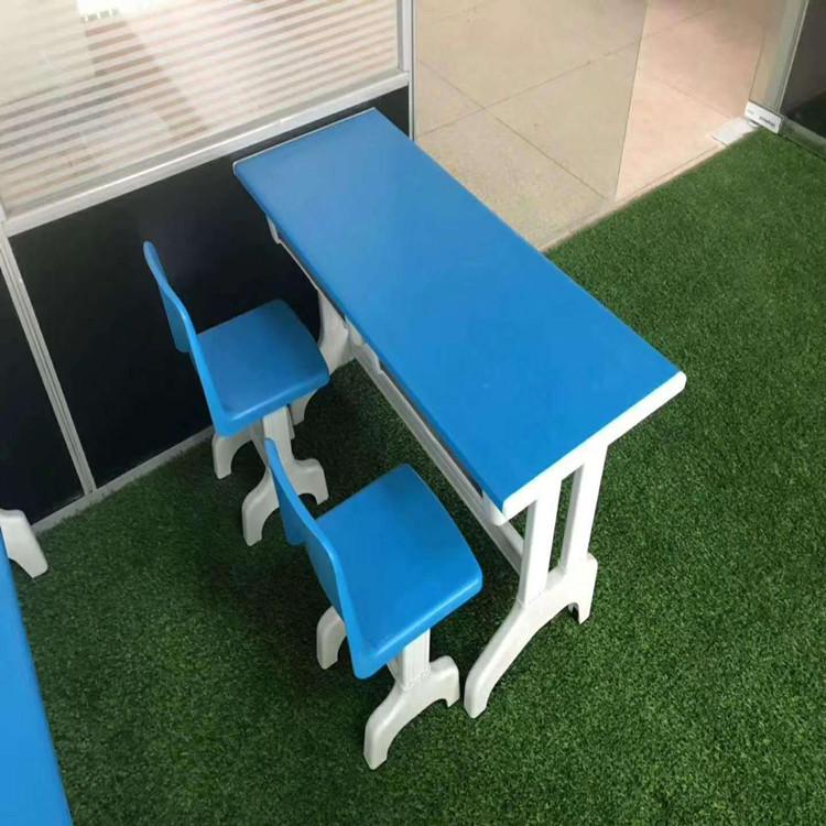 漯河双人可调节课桌椅
