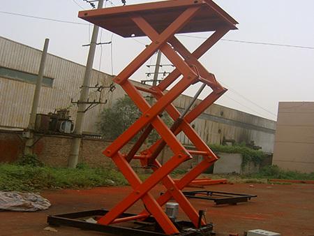 液压升降式平台