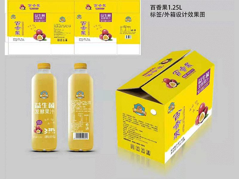 头一赞百香果汁1.25L