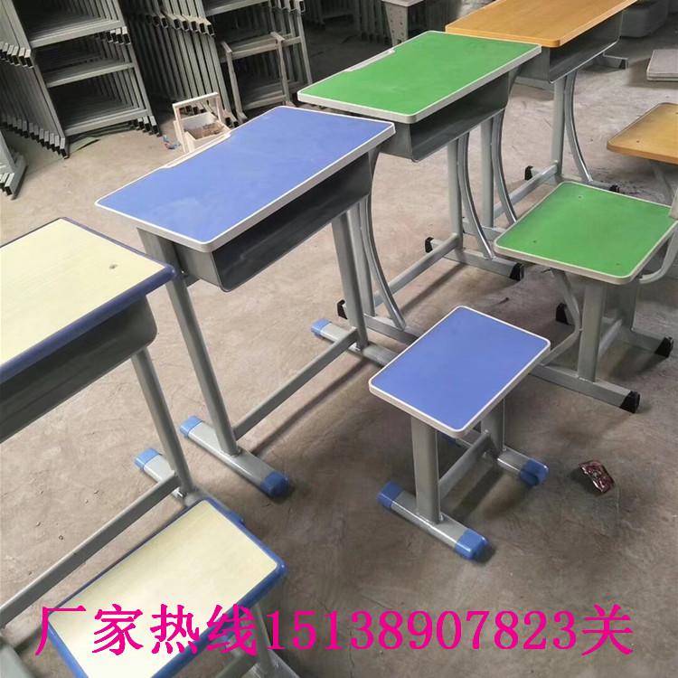 平顶山学生单人课桌椅_