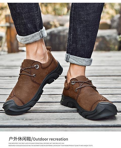 頭層戶外鞋
