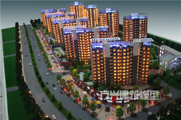 钦州建筑模型