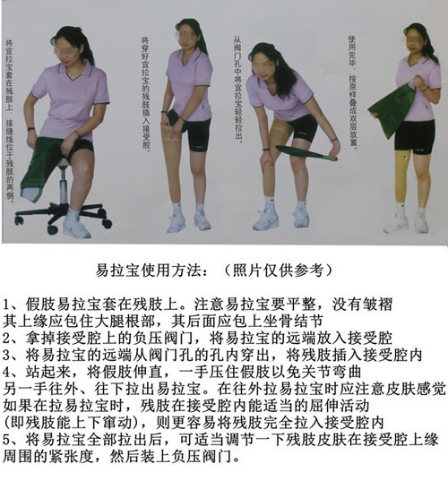 大腿假肢易拉宝