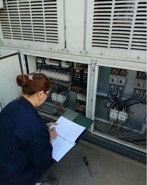 中央空调工作原理