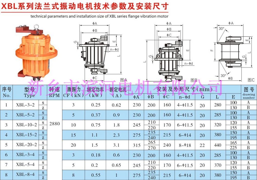 XBL系列立式振動電機
