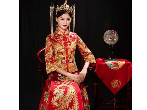 秀禾龙凤袍