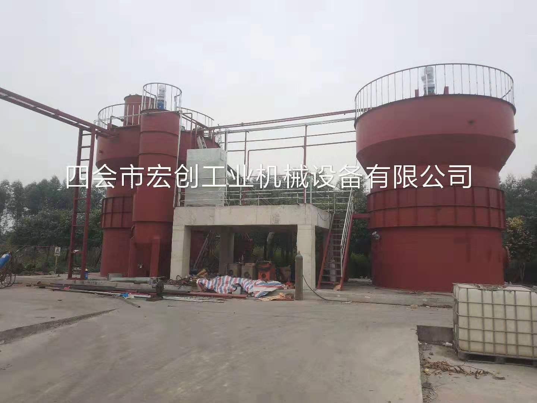 中亚铝业煲模废碱液回收系统