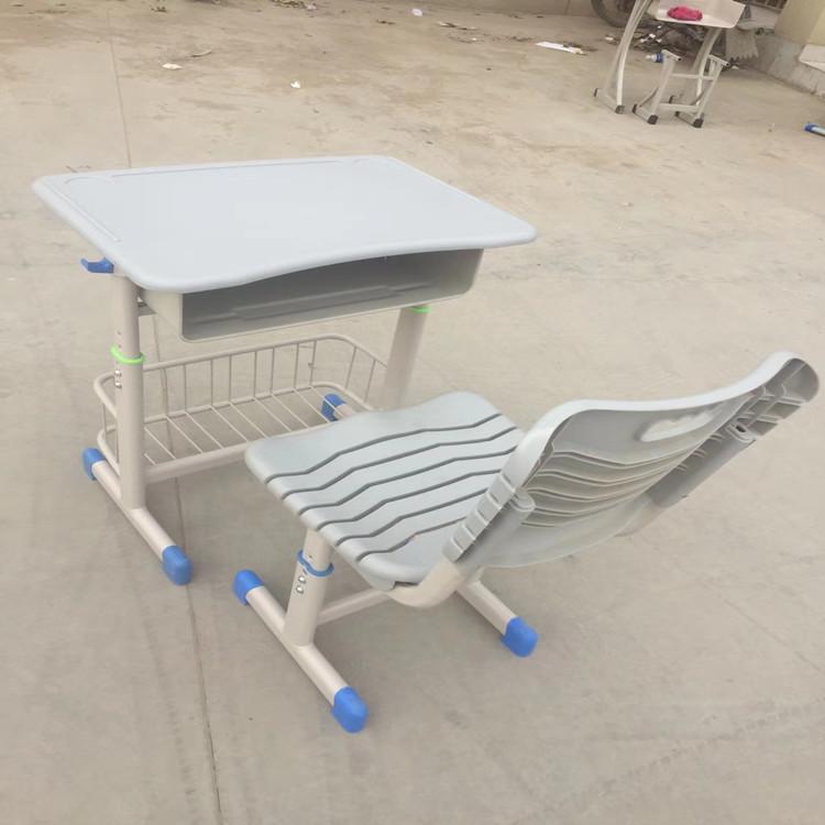 鄭州單人塑鋼課桌椅
