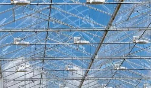 瀚海温室玻璃温室顶部人字梁两种方式简介