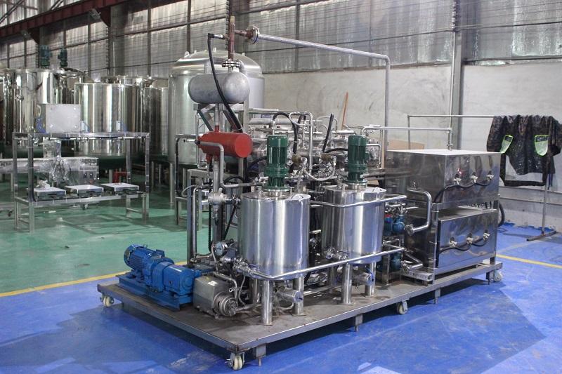 实验室小型奶油生产线