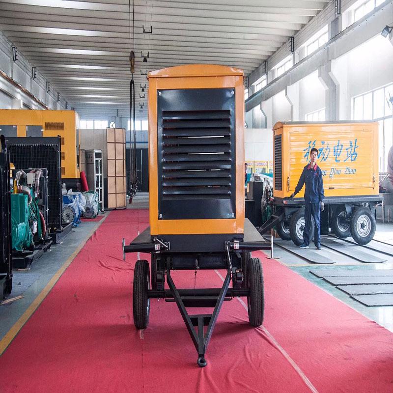 移动拖车柴油发电机