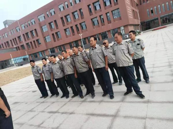 山东坤安保安公司第三季度培训