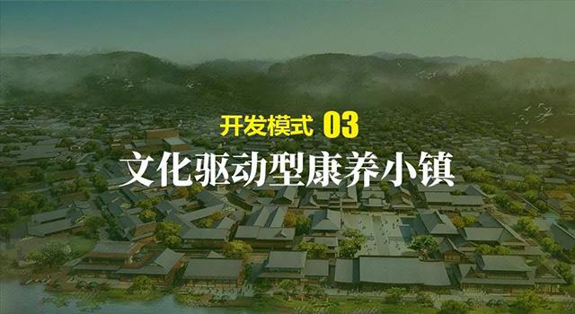 康养小镇的三种开发模式
