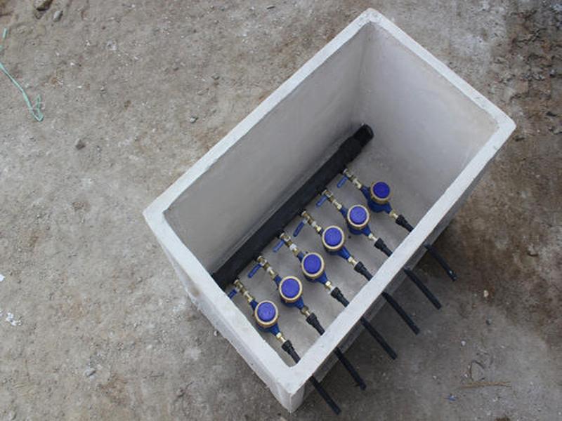 无机玻璃钢水表井