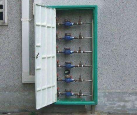 无机玻璃钢水表箱