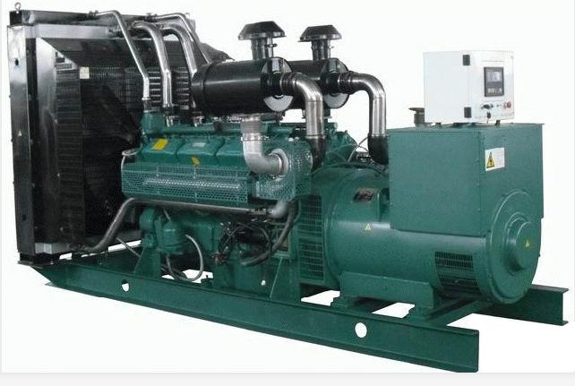 480KW无动柴油发电机组