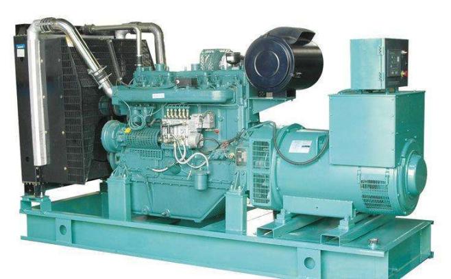 350KW无动柴油发电机组技术规格参数 发电机组