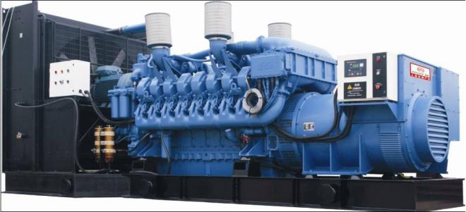 1000KW奔驰柴油发电机组